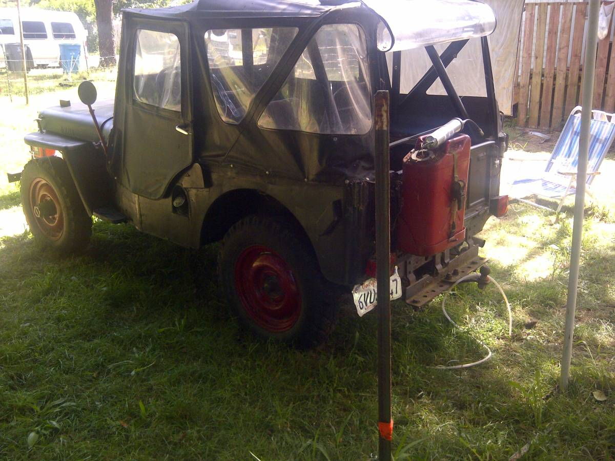 1947 Willys CJ2A Jeep For Sale in Crescent City, CA - $2,500