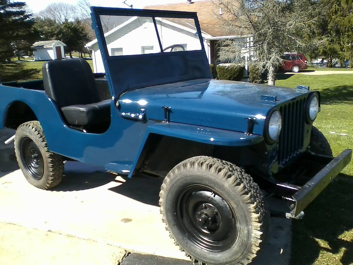 1948 Willys CJ2A Convertible Jeep For Sale in Allegany, NY ...