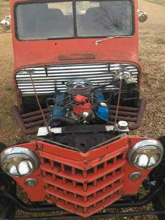 1951 Willys Two Door Pickup For Sale in Tupelo, MS - $8,000