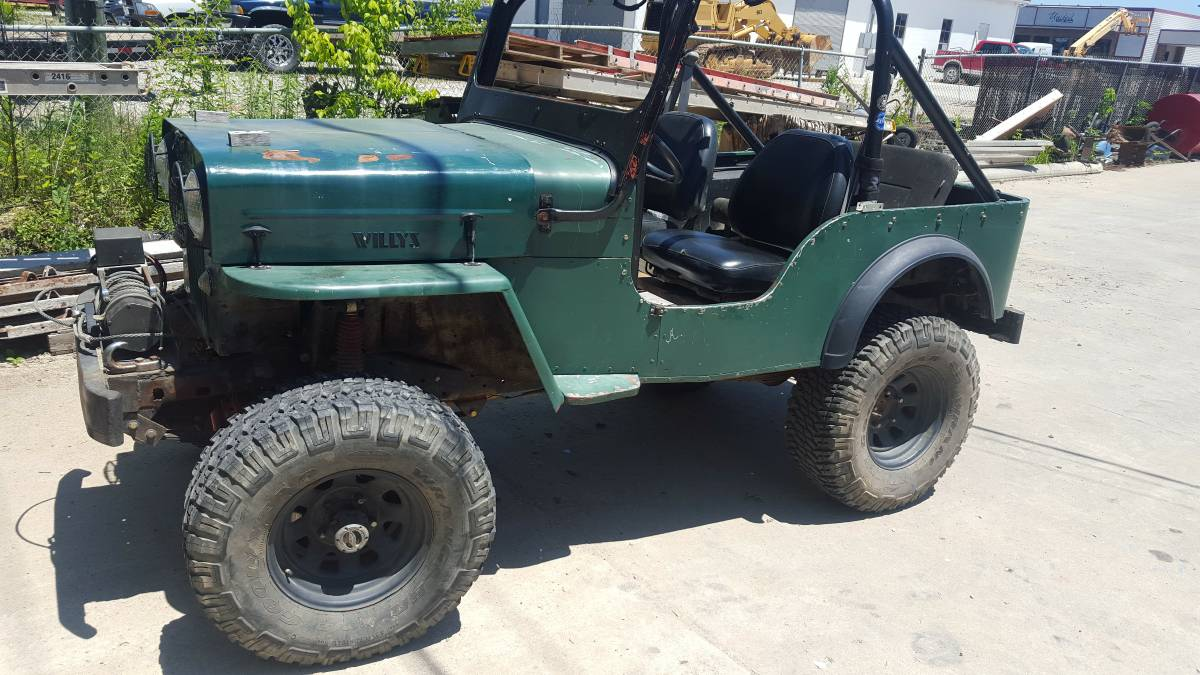 1954 Willys Off Road 4X4 Jeep For Sale in Fulton, MO - $3,800