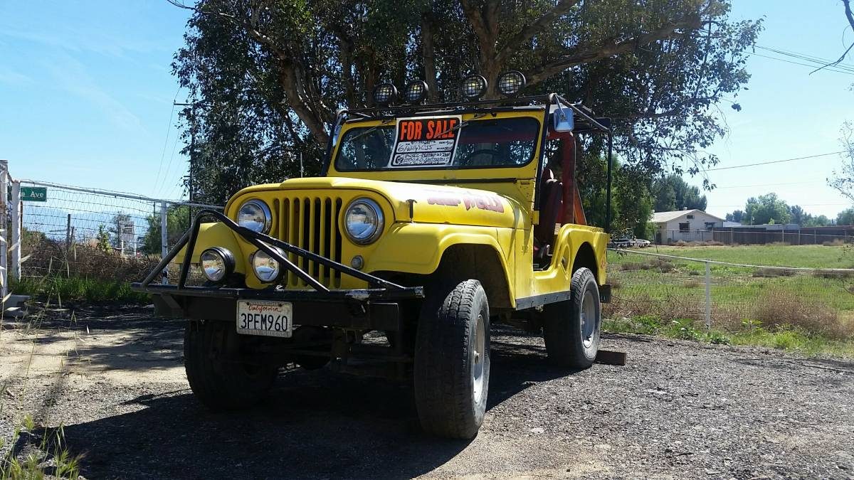 1961 Willys CJ5 Jeep For Sale in Prunedale, CA - $6,450