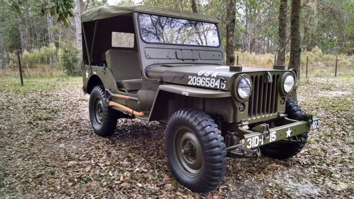 1952 Willys CJ3A Flat Fender Jeep For Sale in Spring Hill ...