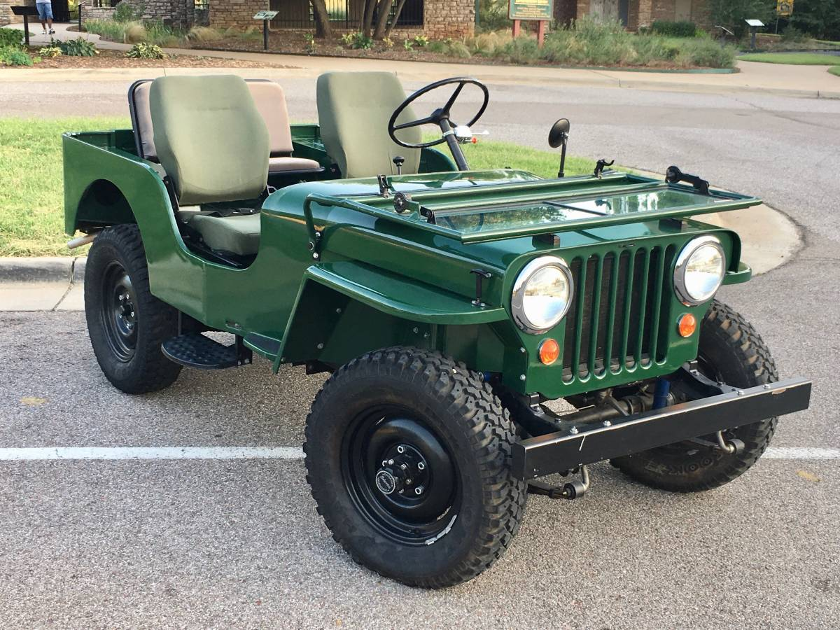 1948 CJ2A Jeep Willys Frame off Resto For Sale in Oklahoma ...
