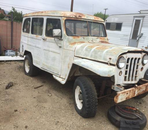 Two 1953 Willys Wagon Projects For Sale in Apache Junction, AZ