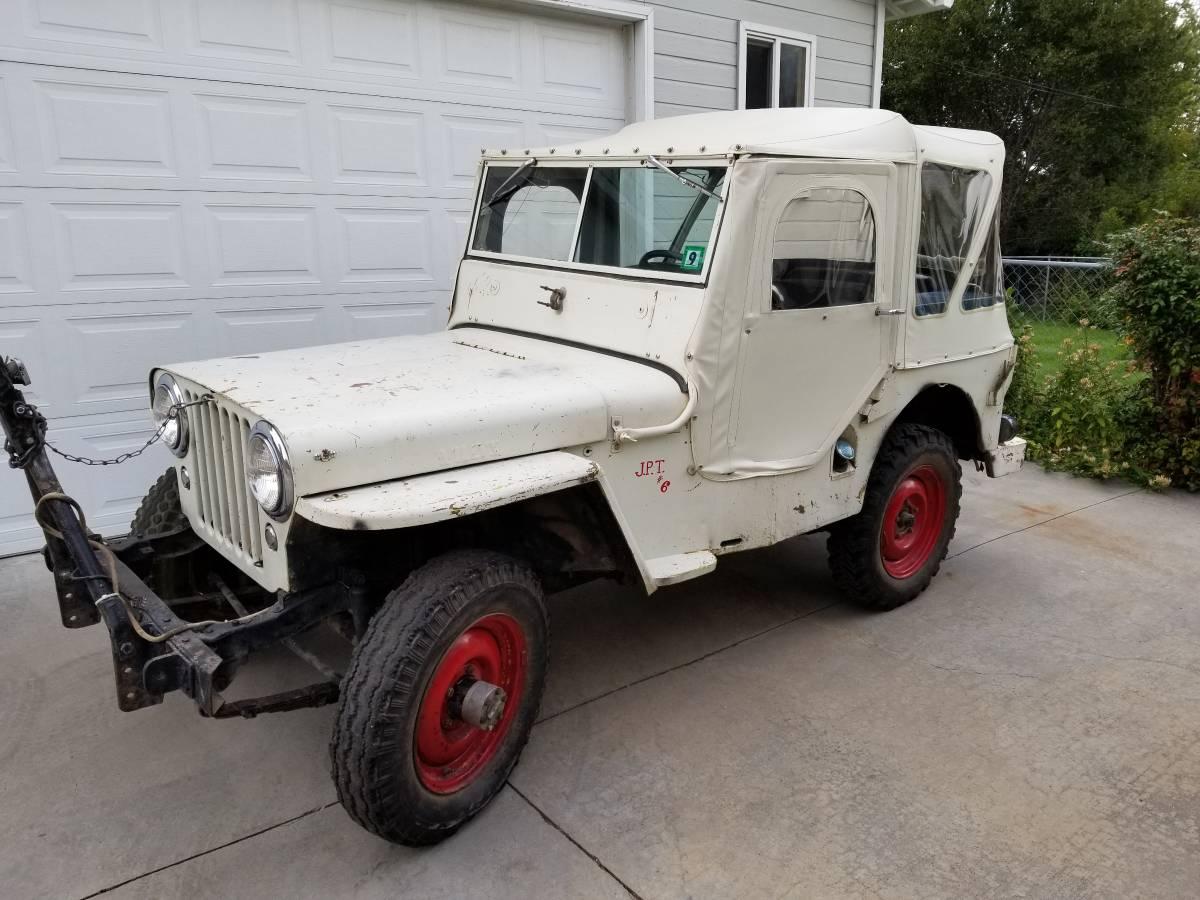 1947 Willys CJ2A 4 Cylinder Manual For Sale in Denver, CO ...