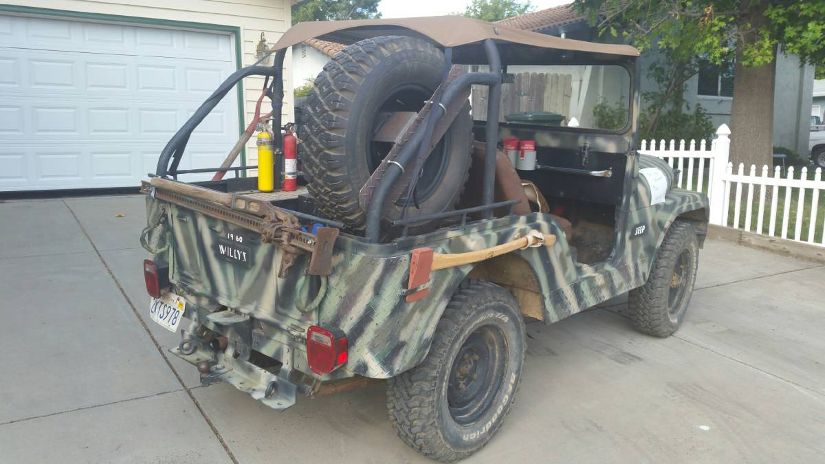1960 Willys CJ5 3 Speed Manual For Sale in Lincoln, CA ...