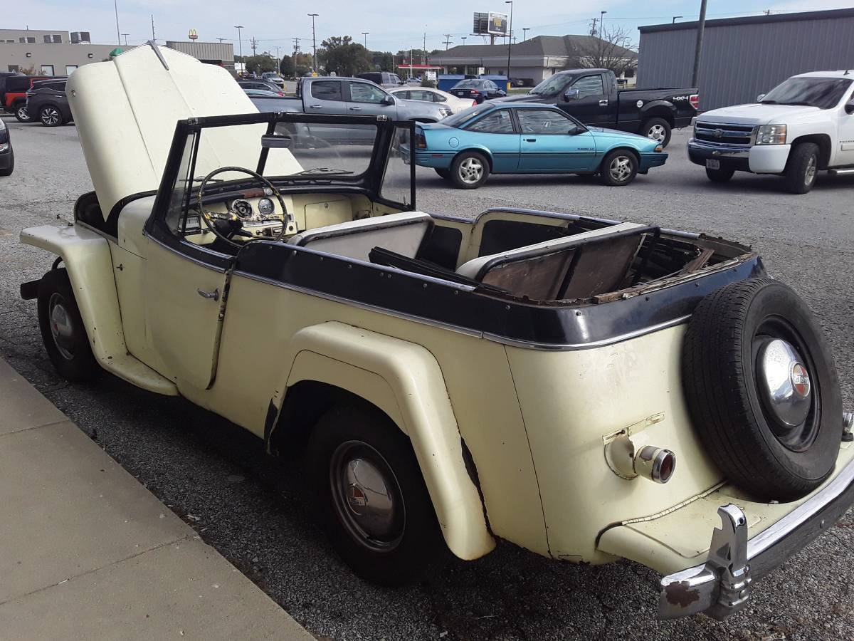 1950 Willys Jeepster Phaeton For Sale in Lafayette, IN ...