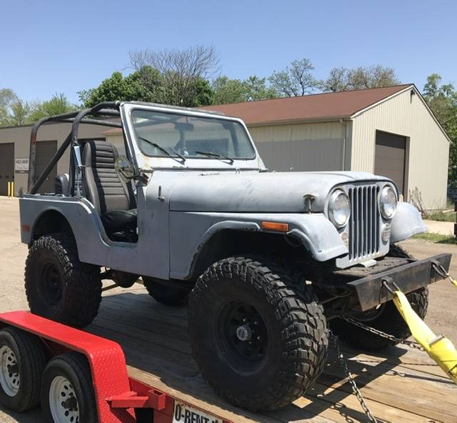 1979 Willys Jeep CJ5 Project For Sale in Grand Rapids, MI ...