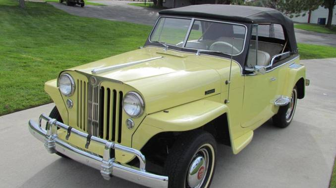 1949 Willys Jeepster 4cyl Manual For Sale in Jonesboro, AR ...