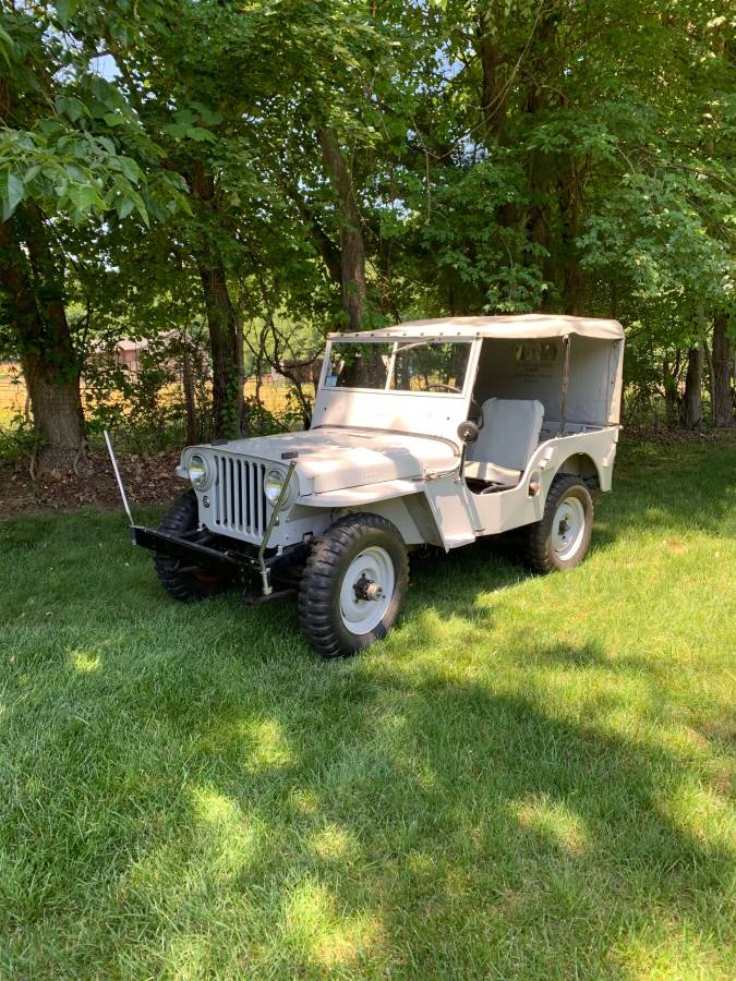 1946 Willys Jeep CJ2A 4cyl Manual For Sale in Westfield ...