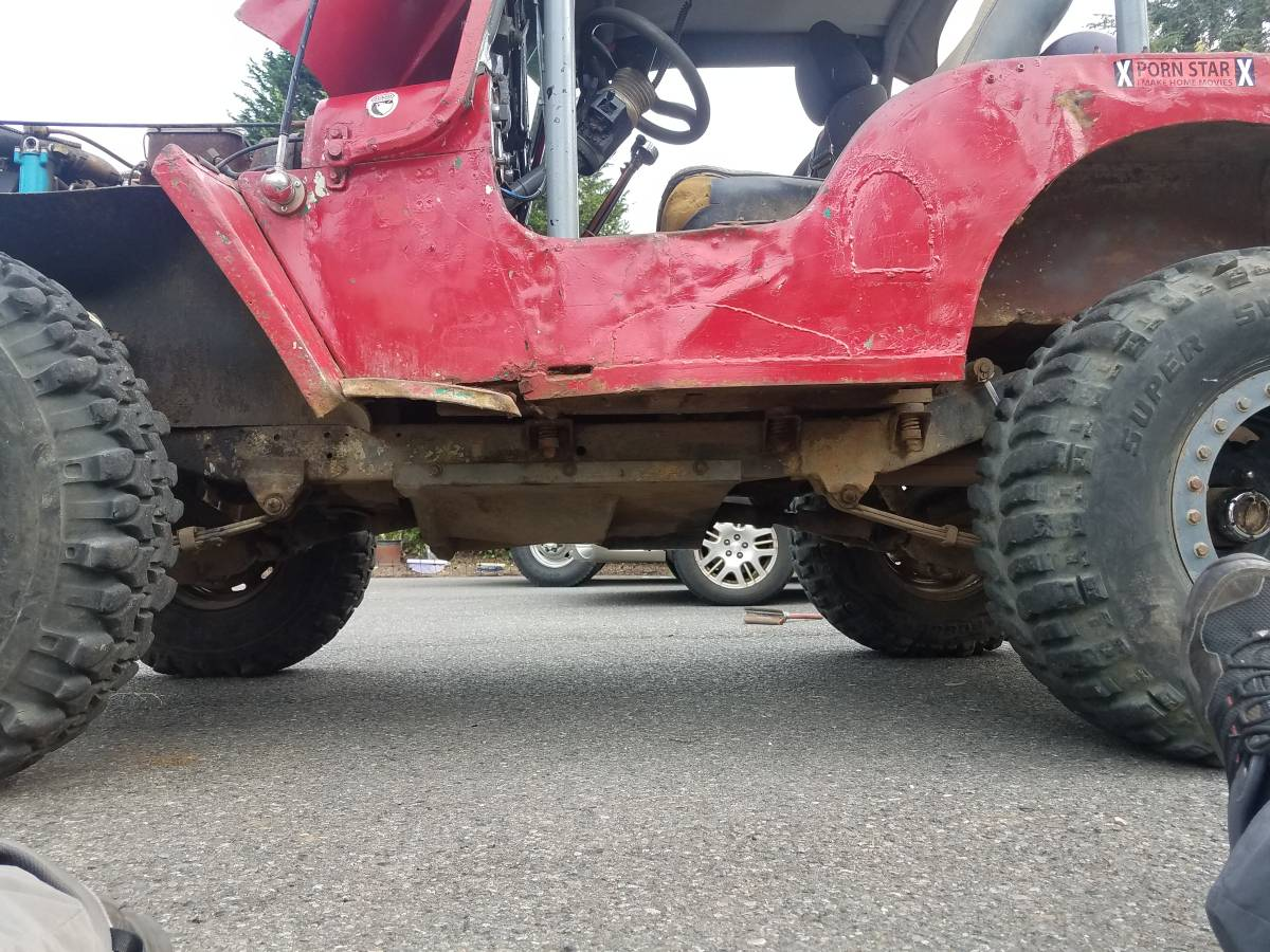 1952 Willys CJ3A Offroad V8 Manual For Sale in Kent, WA ...