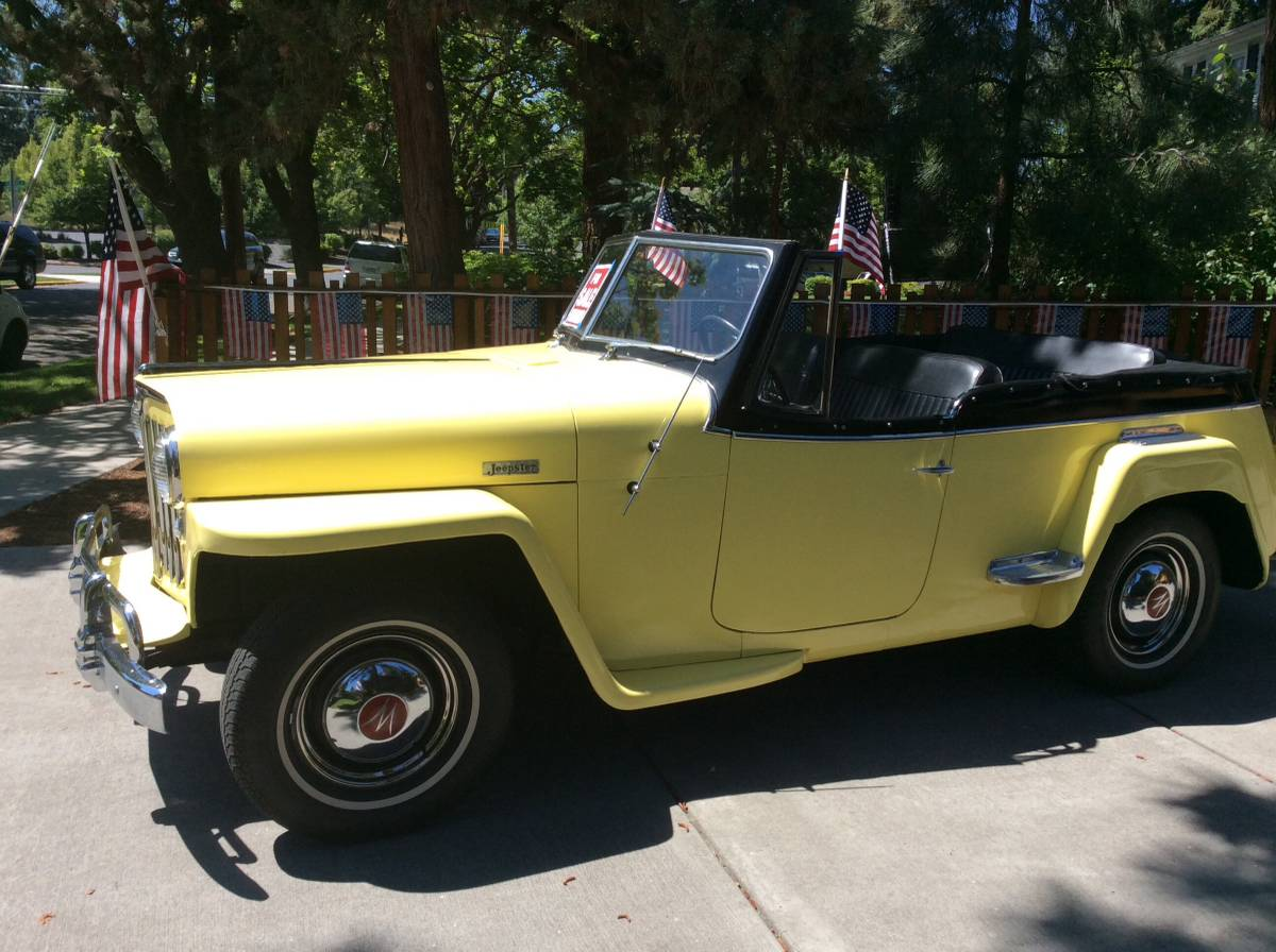 1949 Willys Overland Jeepster For Sale in Bend, OR - $16,500