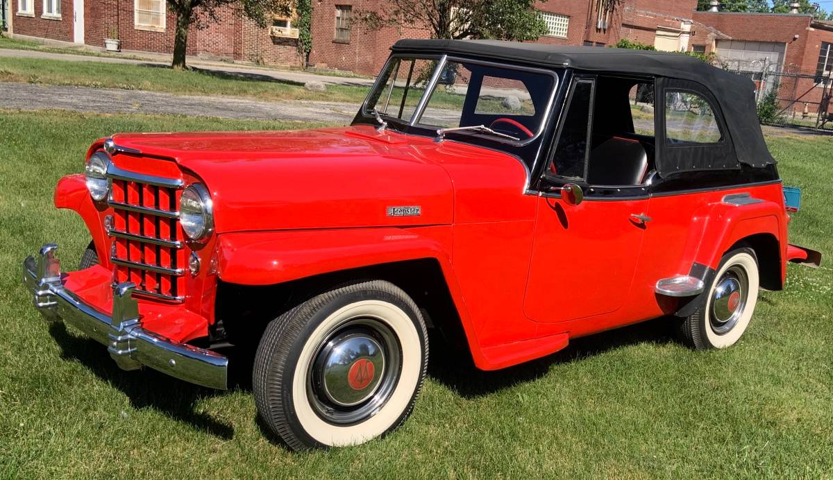 1950 Willys Phaeton Jeepster For Sale in Indianapolis, IN ...