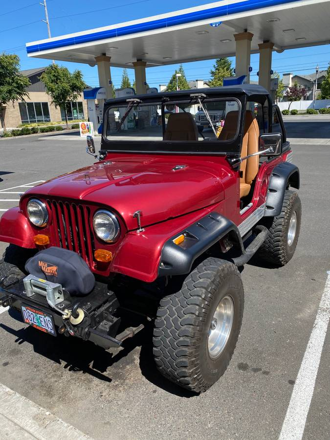 1959 Willys Jeep CJ5 Vortec V6 For Sale in Portland, OR ...