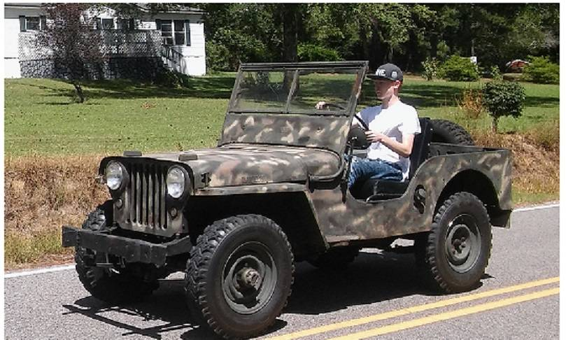 1947 Willys Jeep CJ2A For Sale in Warrior, AL - $7,500