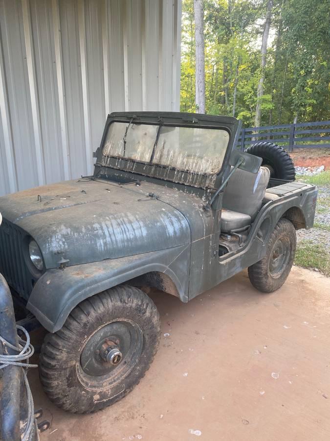 1953 Willys Jeep M38A1 For Sale in Alpharetta, GA - $7,000