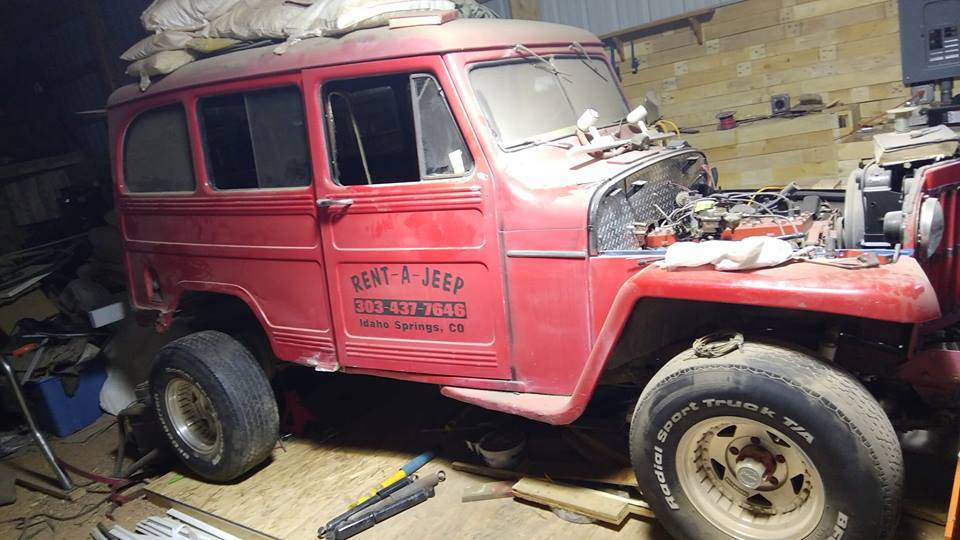 1954 Willys Wagon For Sale in Cotopaxi, CO - $5,000