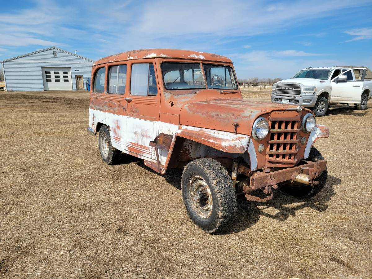 1952 Willys Wagon For Sale in Bozeman, MT - $3,250